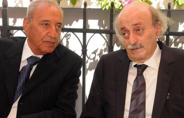 """جنبلاط وعلاقة تحالف متينة مع """"بري"""" وتهدئة مع """"حزب الله"""""""