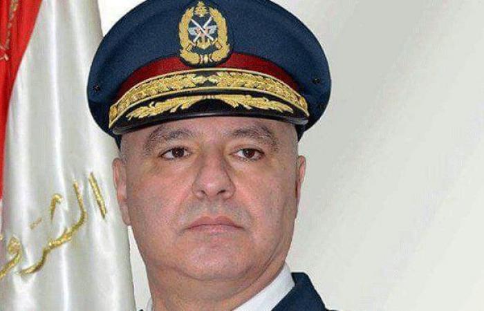 قائد الجيش لمحافظ بعلبك: القرار بفرض الأمن قرار نهائي