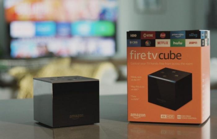 أمازون تكشف النقاب عن جهاز Fire TV Cube