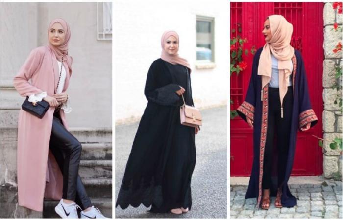 تصاميم عبايات تألقت بها مدونات الموضة العربيات