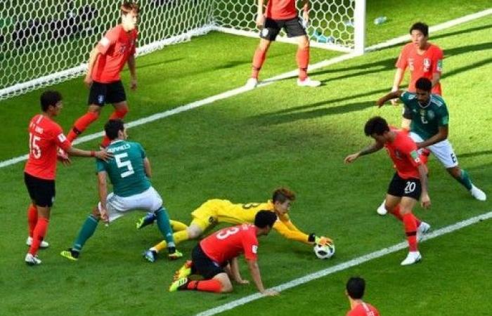 الشمشون الكوري يعطل ماكينات المانيا ويخرجها من كأس العالم