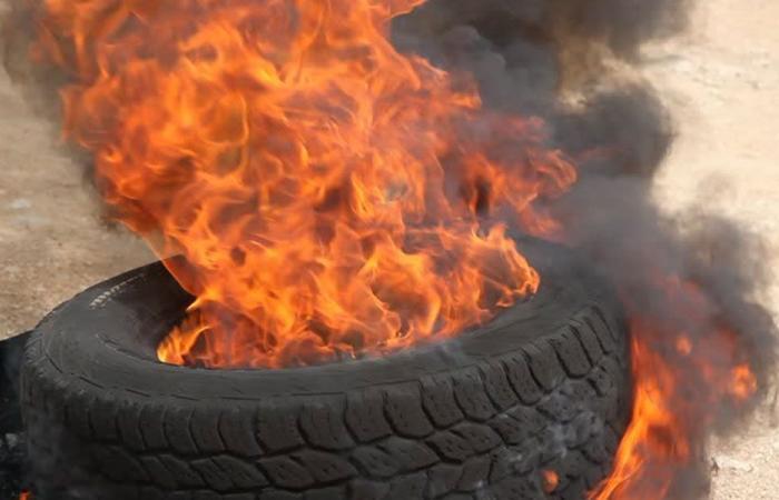 حرق الدواليب في طرابلس والميناء ممنوع!