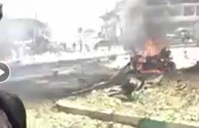 """شاهد.. مقتل 6 أشخاص بانفجار مفخختين في """"عفرين"""" السورية"""