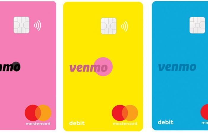 باي بال تطلق بطاقة الخصم المباشر لتطبيقها Venmo