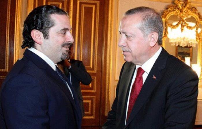 الحريري هنأ أردوغان بإعادة انتاخبه رئيسًا لتركيا