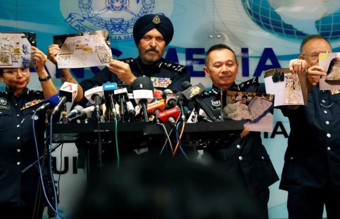 الشرطة الماليزية تصادر كنوزا بمنازل عبد الرزاق