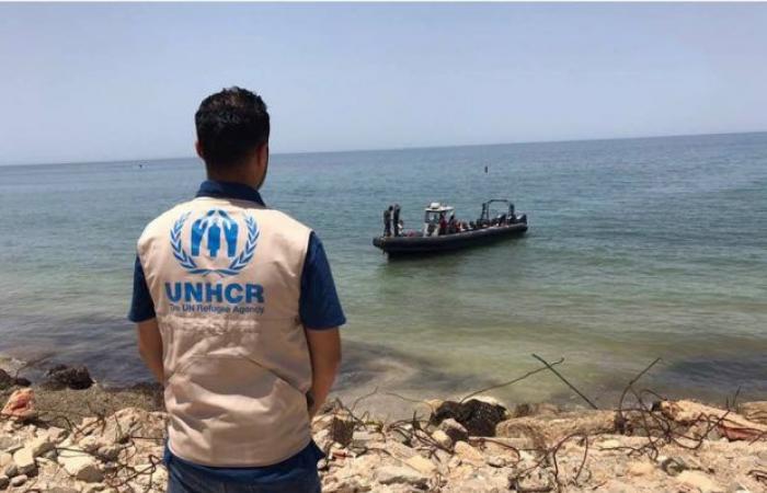 مفوضية اللاجئين تنعي ما يزيد عن 100 مهاجر لقوا حتفهم قبالة الشواطئ الليبية