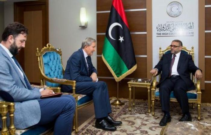 المشري يَبحث مع سفير البوسنة والهرسك تسهيل منح التأشيرات لليبييَّن