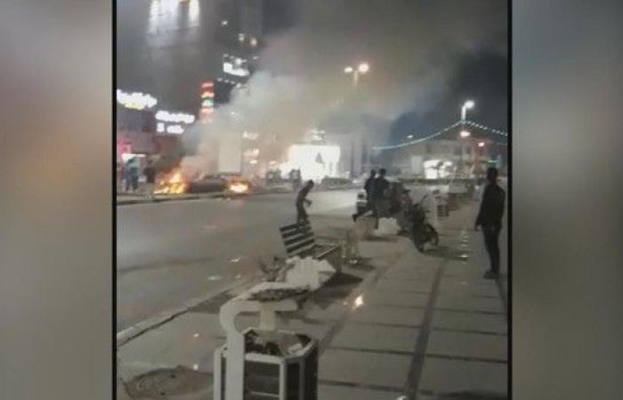 أنباء عن سقوط قتلى بمظاهرات المحمرة في إيران