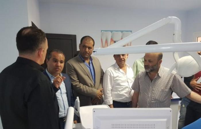 بالصور.. إفتتاح عيادة طبية في مجدل عنجر