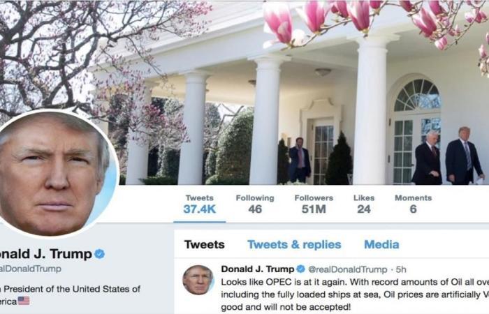 ترامب أكثر القادة متابعة بتويتر.. فمن أبرز منافسيه؟