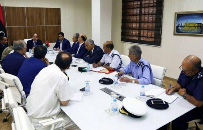 فريق أمن وإدارة الحدود في اجتماع يبحث توحيد العمل مع الأطراف الدولية