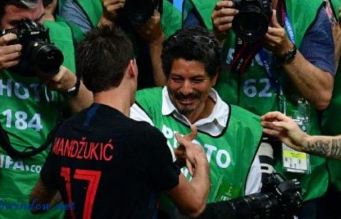 قصة المصور الذي دهسه لاعبو كرواتيا خلال احتفالهم بهدف الفوز
