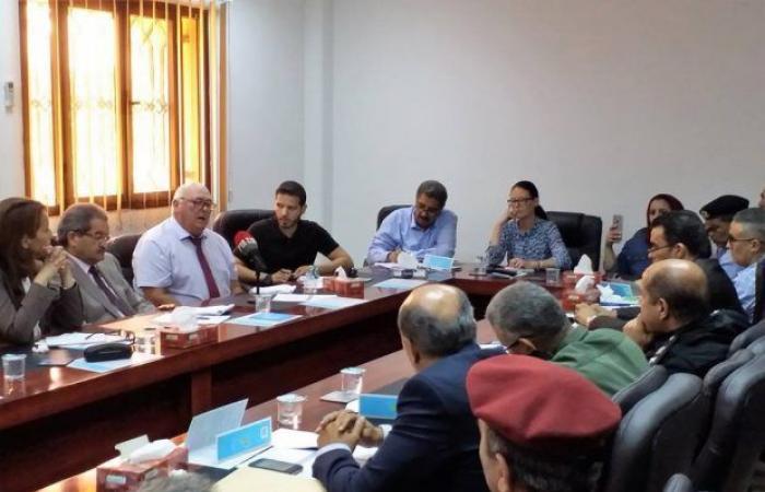 دائرة الأمم المتحدة لنزع الألغام تزور بنغازي وتُنظم عملها مع مفوضية المجتمع المدني