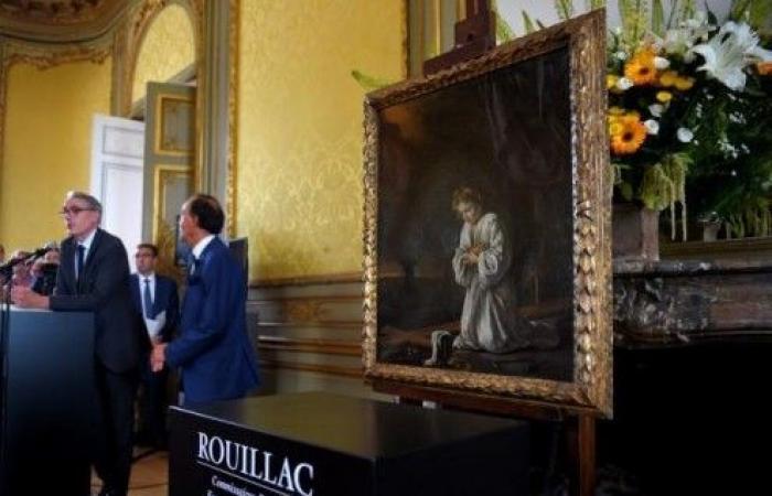لوحة تحول عجوز فرنسية إلى مليونيرة