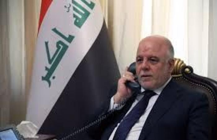 العبادي يبحث مع امير الكويت العلاقات الثنائية بين البلدين