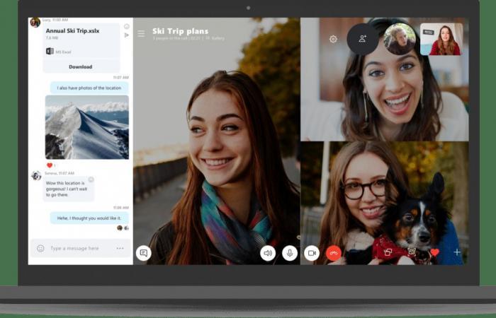 مايكروسوفت تطلق تطبيق سكايب جديد لأجهزة سطح المكتب