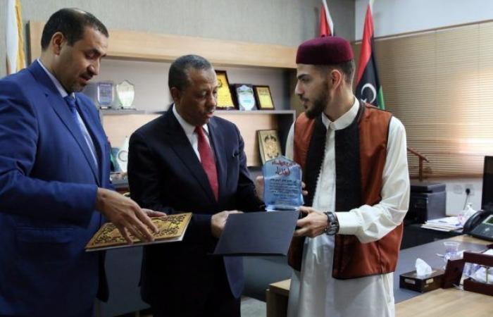 «الثني» يمنح درع التميز والعطاء لمتميزين ليبيين دوليا في مجال حفظ القرآن الكريم والبحث العلمي