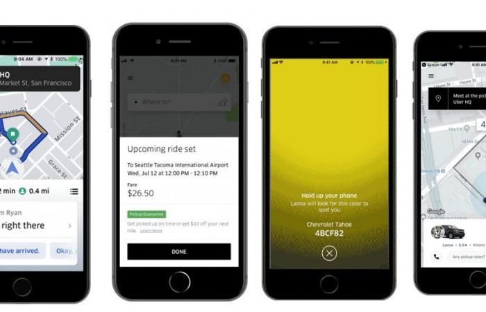 أوبر تطلق ميزات جديدة بتطبيقها لتسهيل التواصل بين السائقين والركاب