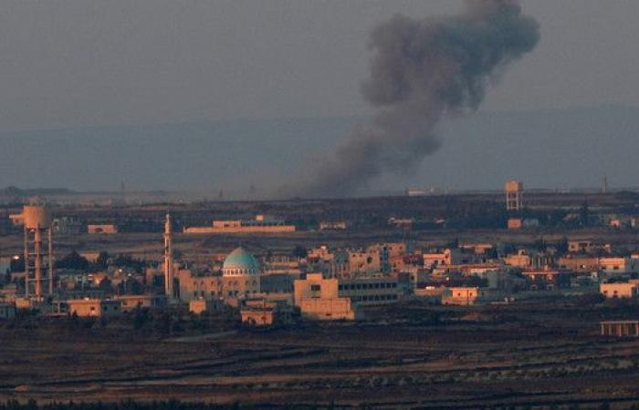 مقتل مدنيين بغارات على مدرسة تؤوي نازحي درعا بالقنيطرة