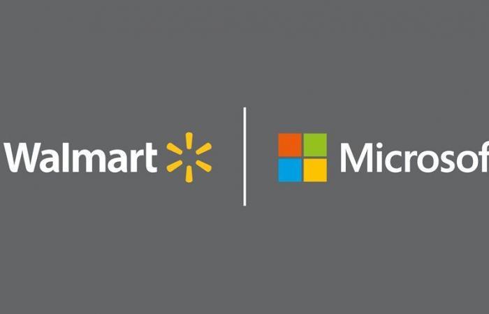 شراكة استراتيجية بين مايكروسوفت وولمارت لمواجهة منافسهم الأكبر أمازون