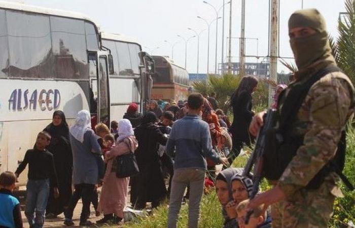 إعلام الأسد: دخول حافلات لإجلاء سكان من كفريا والفوعة