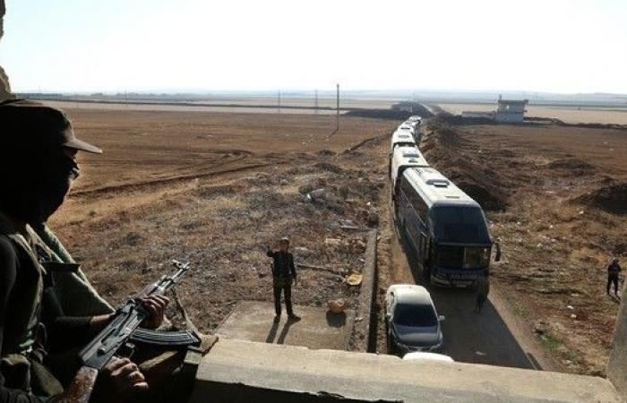 سوريا.. انتهاء إجلاء كافة سكان بلدتي الفوعة وكفريا