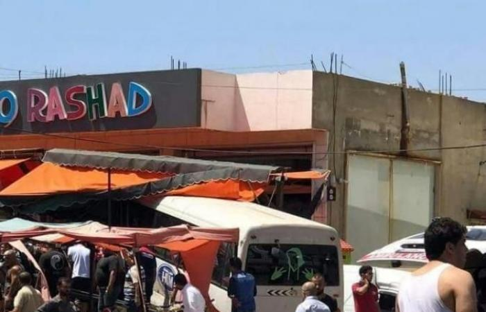 بالصور: قتيل و12 جريحًا بحادث على اوتوستراد دير الزهراني