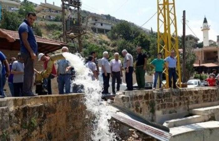 تدشين بئر مياه للري في النبي يوشع في المنية