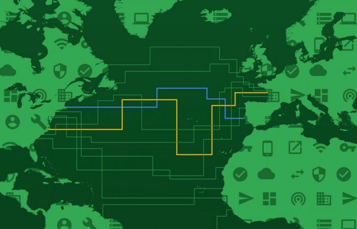 جوجل تعلن عن أول كابل خاص بها عبر المحيط الأطلسي