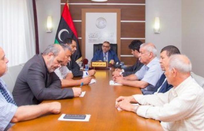 المشري يُحيط أعضاء مجلسه بفحوى لقاءاته مع السفراء خلال الفترة السابقة