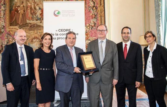 غابي تامر رئيسًا لمجلس ادارة غرفة التجارة الفرنسية اللبنانية