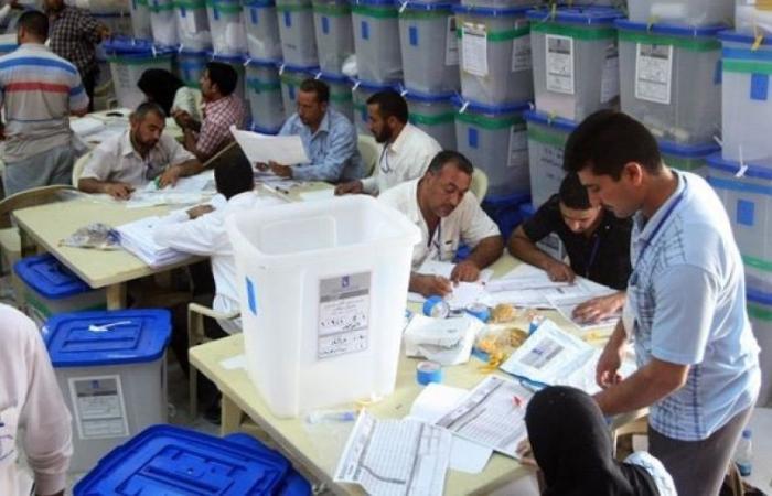 مفوضية الانتخابات: غدا بدء عملية العد والفرز اليدوي لمحطات كربلاء المقدسة