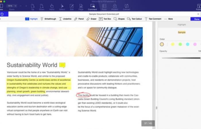 تطبيق PDFelement لإنشاء وتحرير ملفات PDF على Mac و iOS