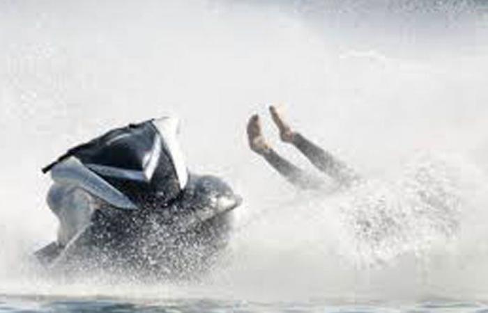 جريحان بحادث اصطدام Jetski في صيدا