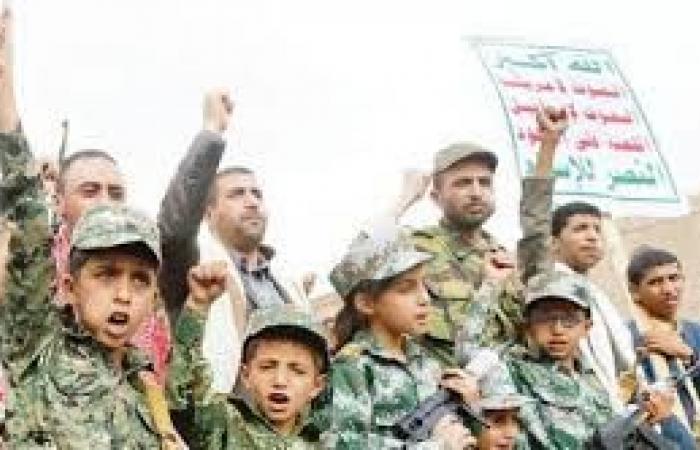 البرلمان العربي يدعو إلى وقفة دولية حازمة ضد تجنيد الحوثي للأطفال