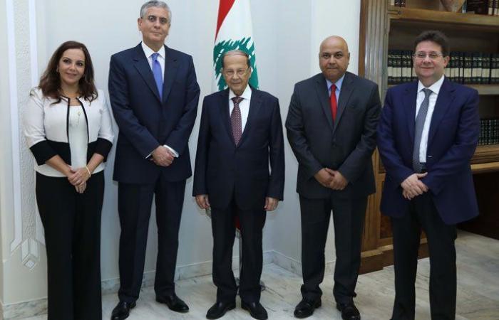 اجتماع عون بوفد البنك الدولي كان مثمرًا