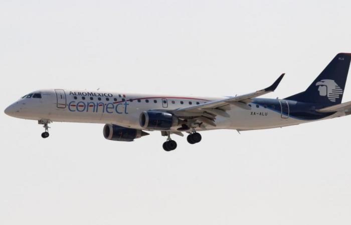 تحطم طائرة تقل 100 راكب في المكسيك