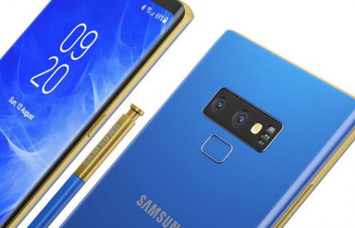 سامسونج تكشف رسميًا عن هاتف Galaxy Note 9