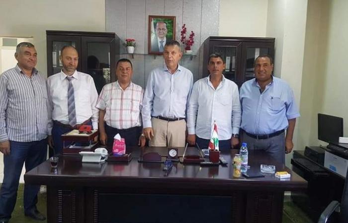لازاريني زار منطقة وادي خالد والتقى رئيس اتحاد البلديات