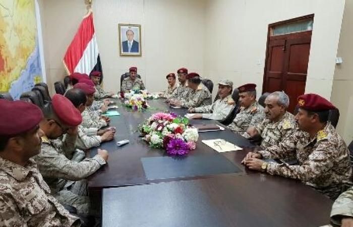 اليمن   رئيس الأركان يثمن دعم دول التحالف لاستعادة الدولة وقطع اليد الايرانية