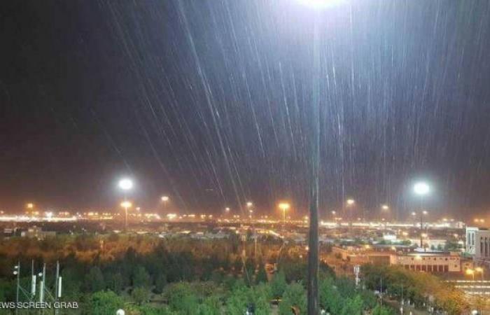 فلسطين   أمطار غزيرة على مكة عشية الوقوف بعرفة