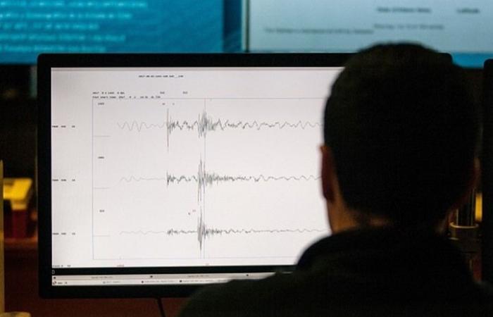 زلزال قوته 8.2 درجة يقع في المحيط الهادي