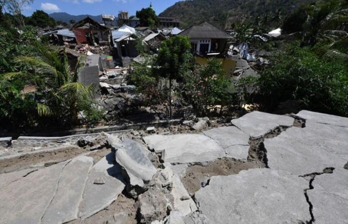 """زلزال جديد يضرب جزيرة """"لومبوك"""" الإندونيسية"""