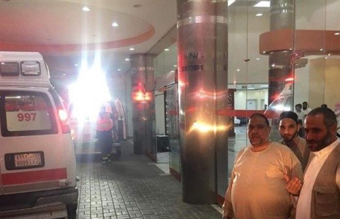 فلسطين   ادعيس يتفقد حجاجنا المرضى في مكة