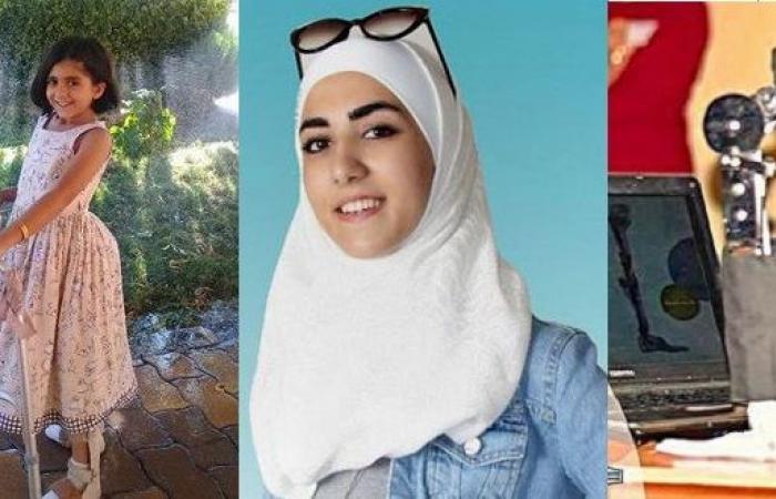 """سوريا   سانا : """" طالبة سورية تخترع جهازاً تقويمياً لمرضى الشلل النصفي .. و تصبح من ضمن الشباب العشرة الأكثر تميزاً عالمياً """""""