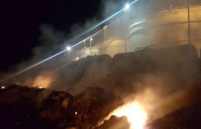 الحرائق تضيء معمل الجية الحراري ومناشدات لإخماده