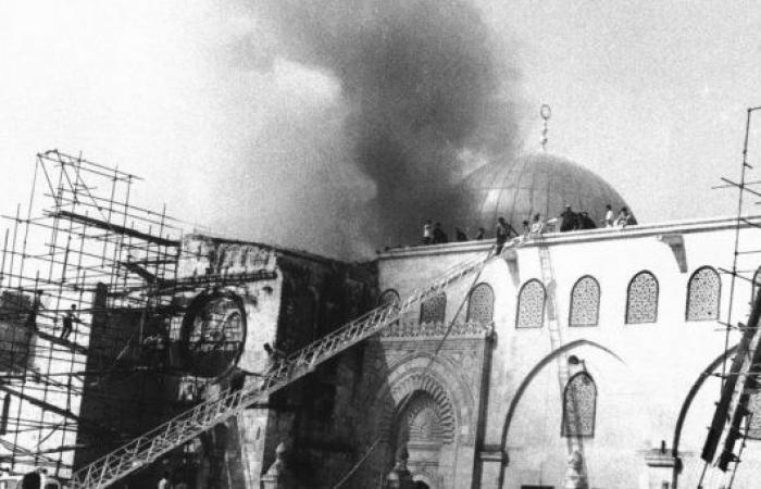 فلسطين   يوم غد الثلاثاء ... 49 عاما على إحراق المسجد الأقصى