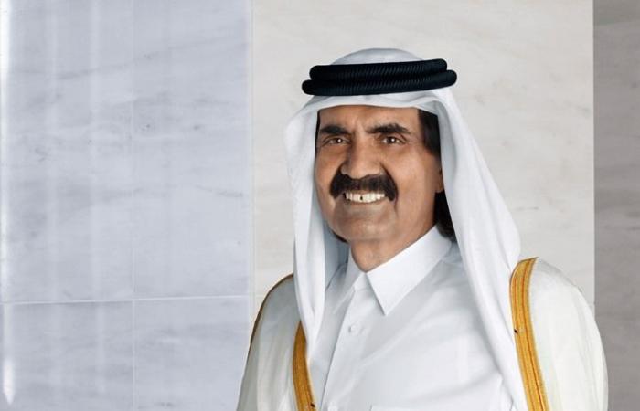 أمير قطر السابق يخص عجوزا إيطالية بزيارة في منزلها.. لماذا؟