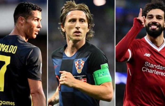 3 نجوم يتنافسون على جائزة الأفضل في أوروبا